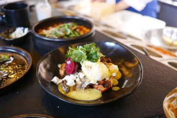 Kubenedictus - Ox Cheek Eggs Benedict at Coal Office, Kings Cross, London