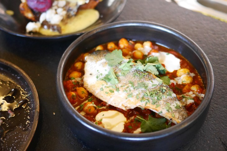 Seabass Chraime from Coal Office, Kings Cross, London