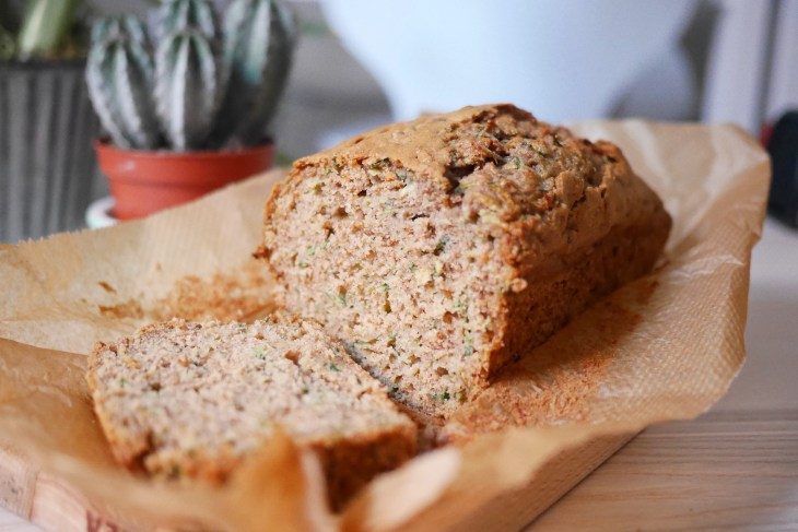 Healthy Zucchini Breakfast Bread Loaf