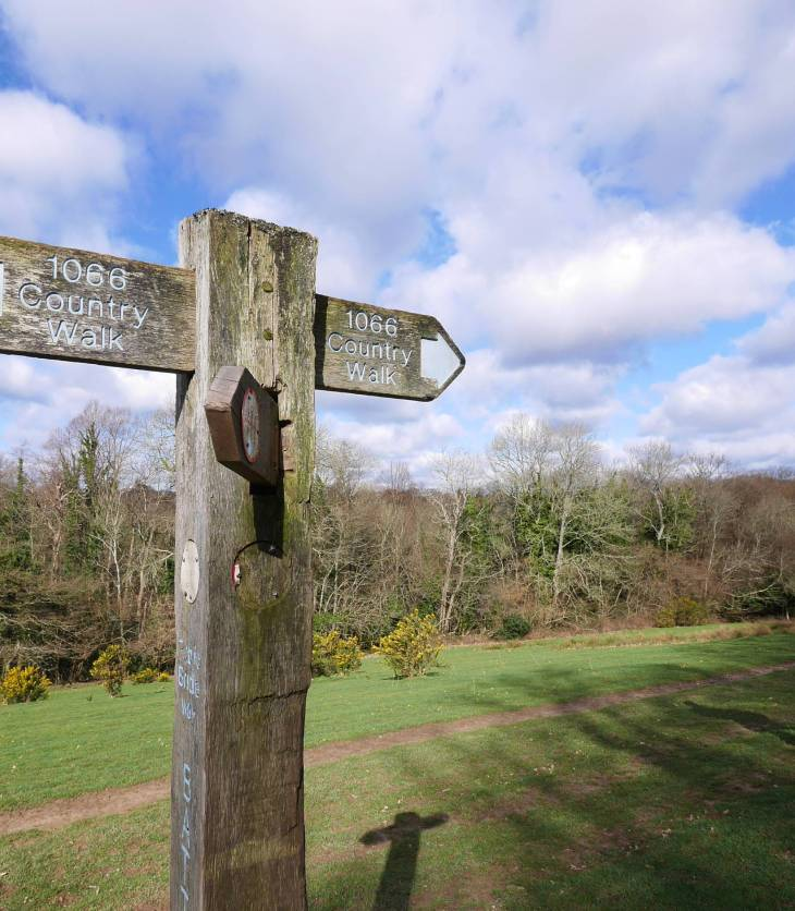 1066 Country Walk Signage post