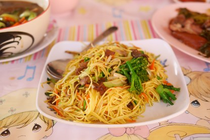 Yunnanese fried noodles