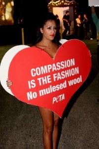 Mitgefühl ist Mode, keine Mulesing Wolle