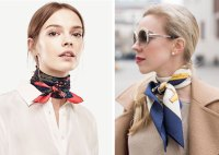 5 Ways to Tie a Silk Scarf - Lolli and Me
