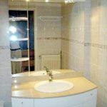 Nyistandsat badeværelse