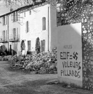 Den gamle Tignes by