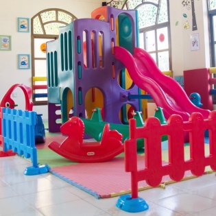 Our huge indoor play area