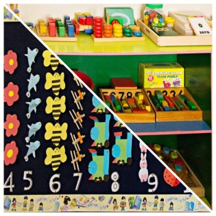 Maths Learning Center at Lollipop Nursery Sharjah