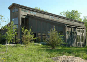 Carl Kroening Interpretive Center:  Where the fairy magic happens.