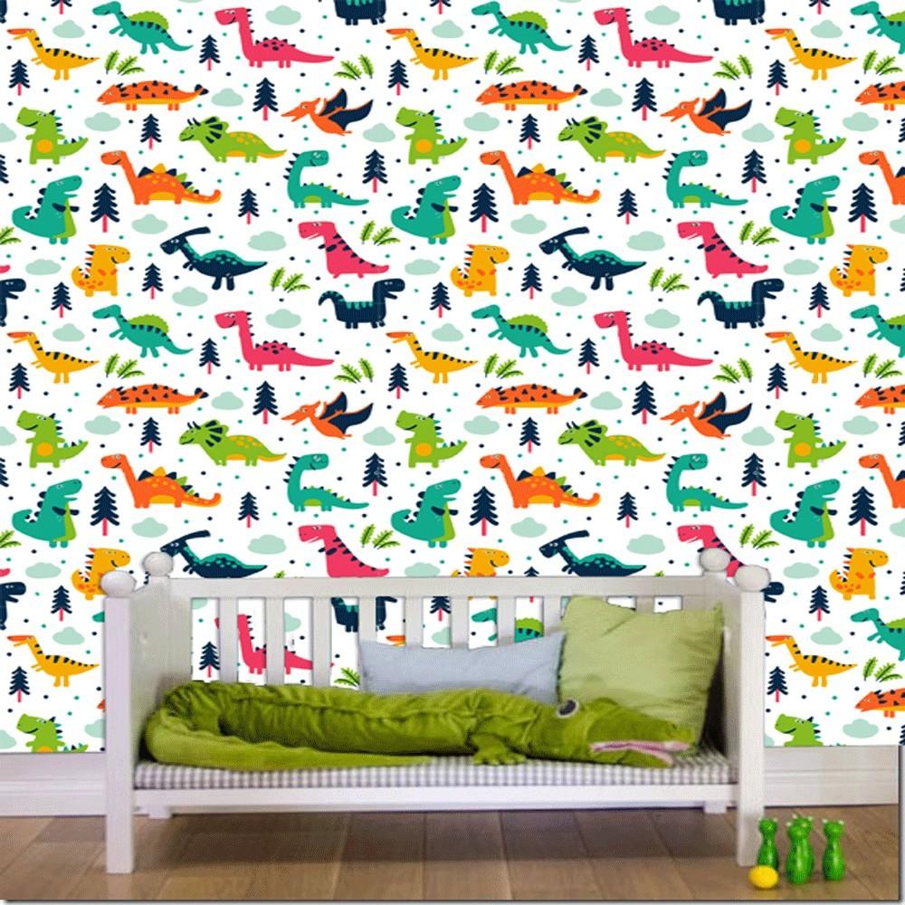 Subito a casa e in tutta sicurezza con ebay! Acquista Carta Da Parati Camera Bambini Dinosauri Interior Design