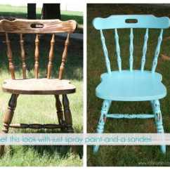 Diy Painted Windsor Chairs Chair Times Vitra Design Museum How To Distress Furniture With Spray Paint And A Sander
