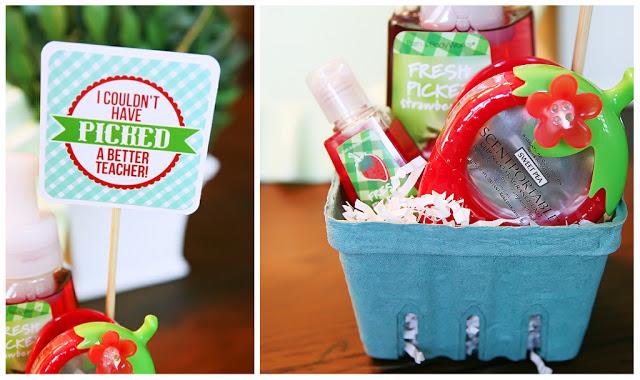 eighteen25 berry basket teacher appreciation via LollyJane.com