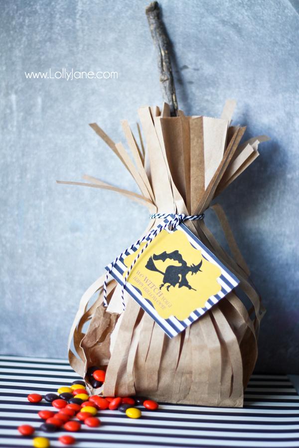 Halloween Printable Treat Bag Tags