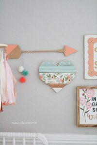 Baby girl nursery gallery wall - Lolly Jane