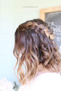 Dutch Braid Crown Tutorial