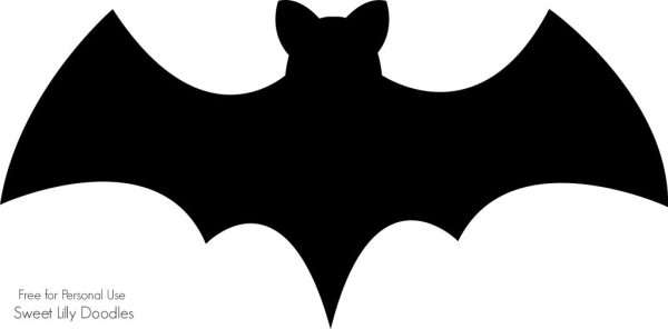 diy halloween bat marquee - lolly