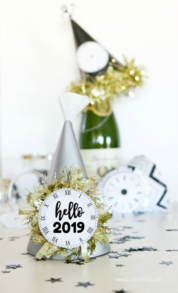 nye party hat tutorial