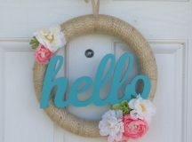cheery spring wreaths - Lolly Jane