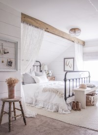 11 stunning farmhouse master bedrooms - Lolly Jane