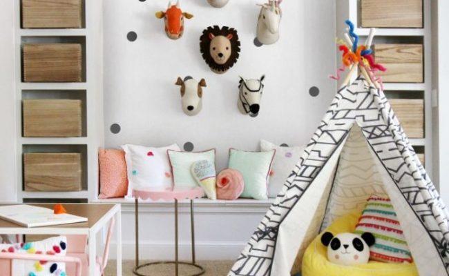 Creative Fun Kids Playroom Ideas
