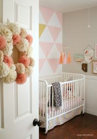 Painted Triangle Accent Wall Tutorial - An Easy Wall of ...