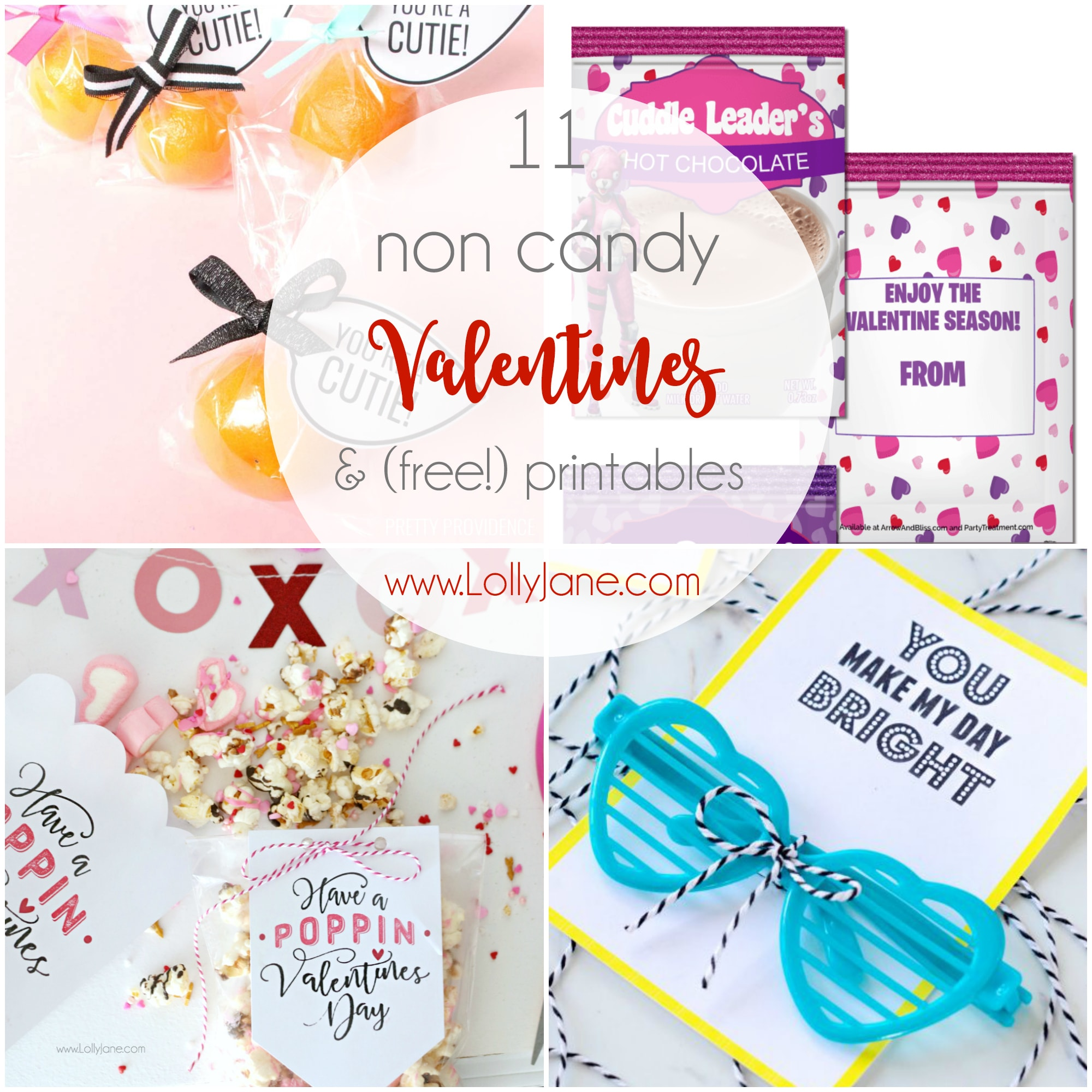 11 non candy valentine