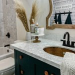 Small Modern Farmhouse Bathroom Lolly Jane