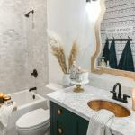 Small Modern Farmhouse Bathroom Lolly Jane