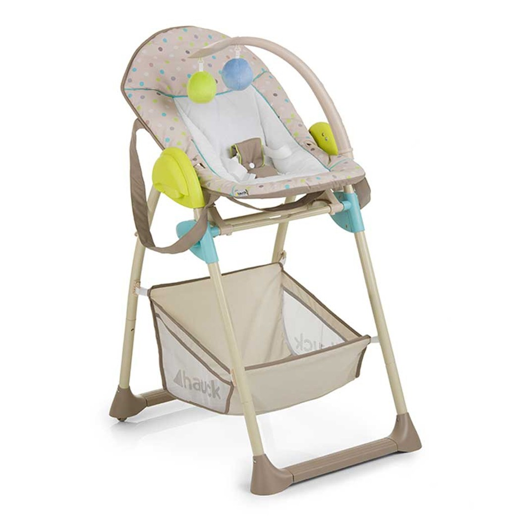 Hauck High Chair Hauck Sit N Relax Multi Dots High Chair