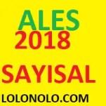 Ales 2018 Sayısa sorular pdf