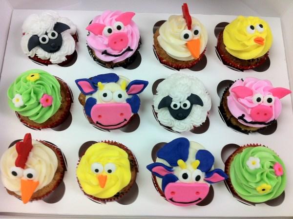 Barnyard Cupcakes Cake Farm