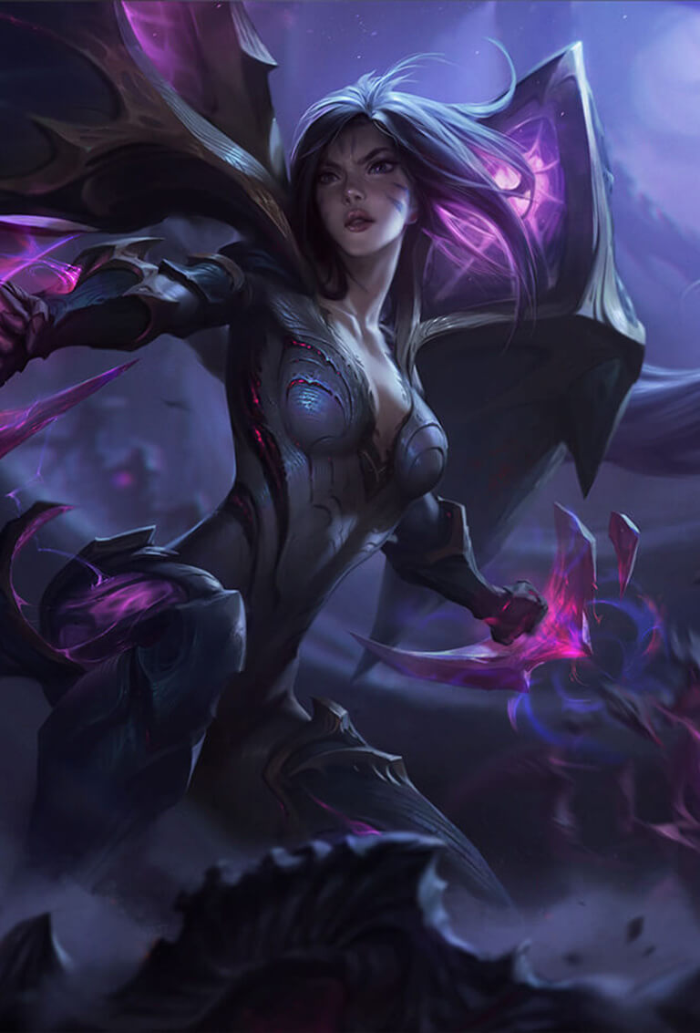 Champion Reveal KaiSa Daughter Of The Void