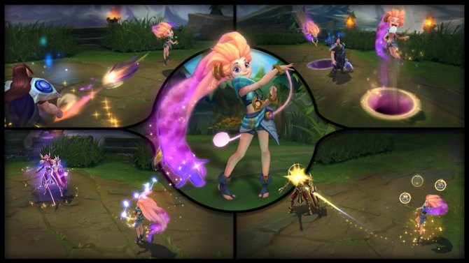 Zoe llega a League of Legends
