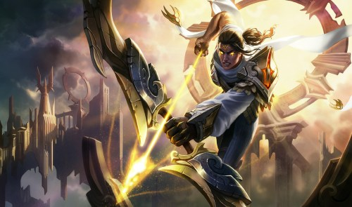 Arclight Varus Skin - League of Legends Wallpapers
