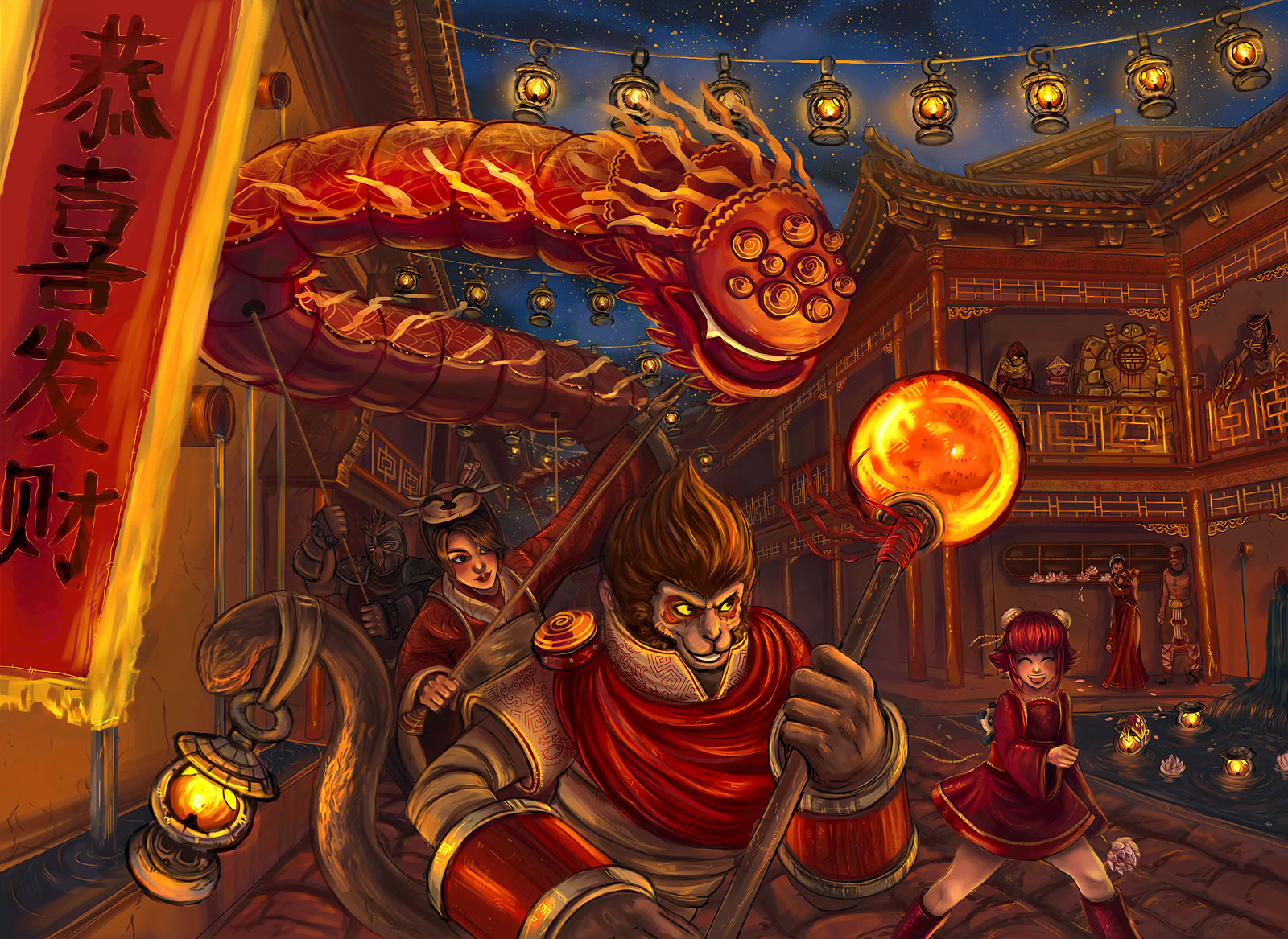 Cute Teemo Wallpaper Art Of Revelry Contest Wukong League Of Legends Wallpapers