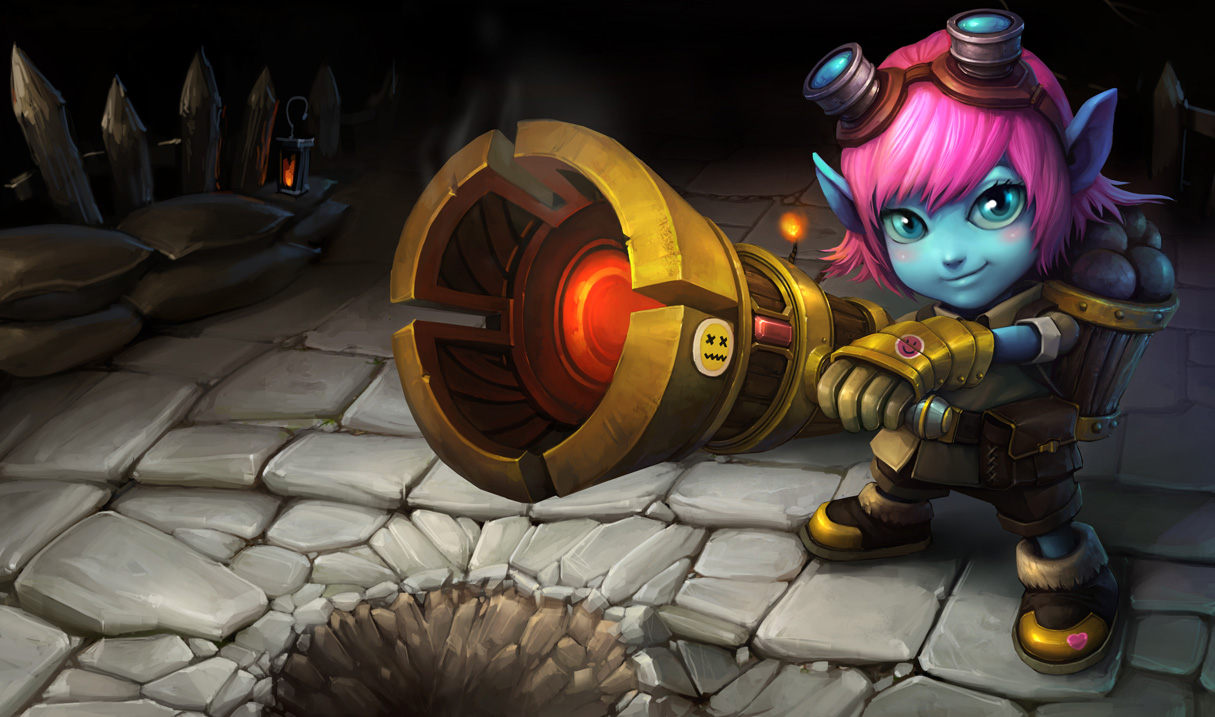 Best 3d Hd Wallpapers For Pc Riot Girl Tristana Skin Chinese League Of Legends