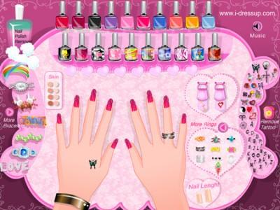 Nail Polish Design Fashion Club S Makeup Dressup And Makeover Games