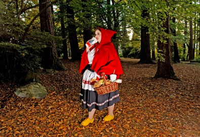 Red Riding Hood Eats Her Way To Happiness