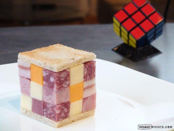 Rubix Cube Sandwitch