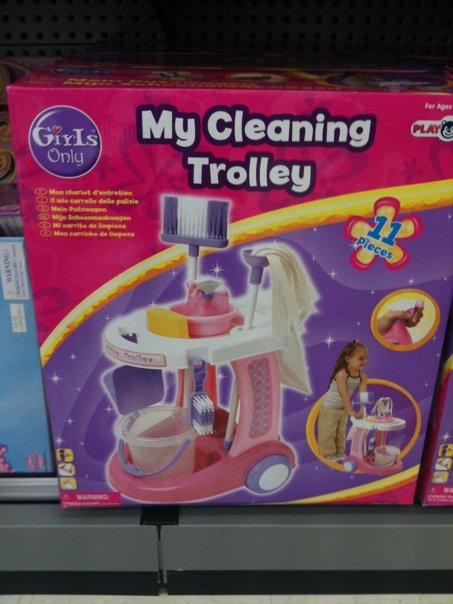 Kids Cleaning Cart