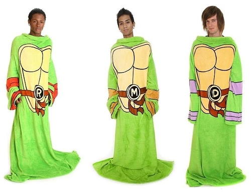 TMNT Snuggies For Your Inner Weird-O