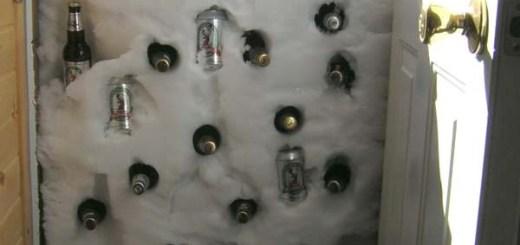 Beer Cooler Door