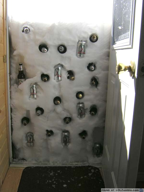 Beer Cooler Door