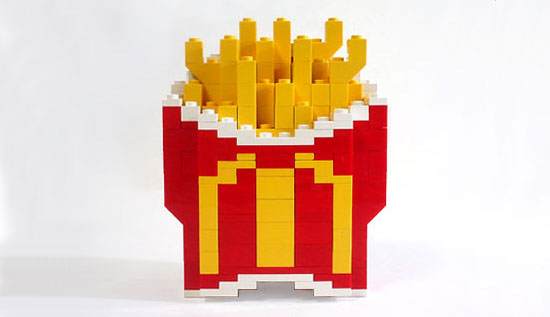 McDonalds Fries Made Out Of Legos
