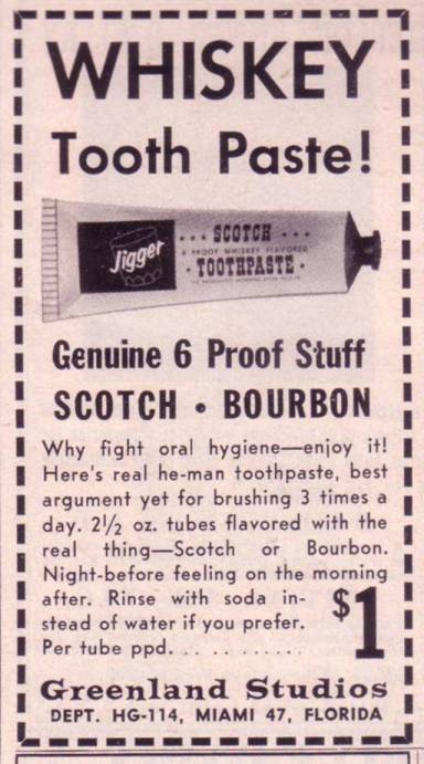 Whisky Toothpaste