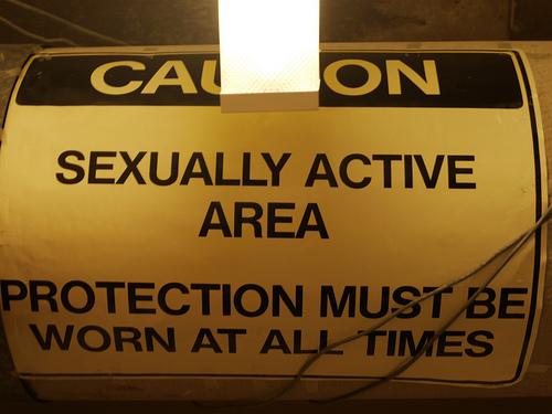 Caution: Active Area