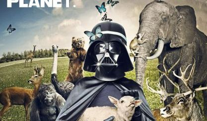 The Dark Side Took Over Earth Hour