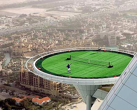 The Ultimate Tennis Court