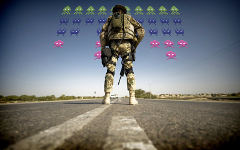 Army Training Solders To Fight Space Invaders