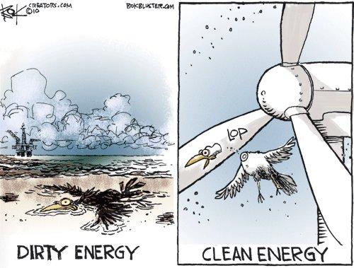 DIRTY vs. CLEAN energy! Were Screwed