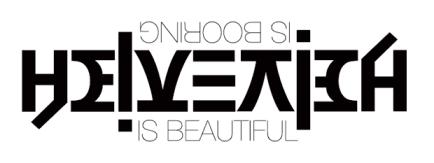 Helvetica is Beautiful - Boring